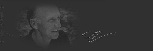 Message from Karl Gustavson Architect