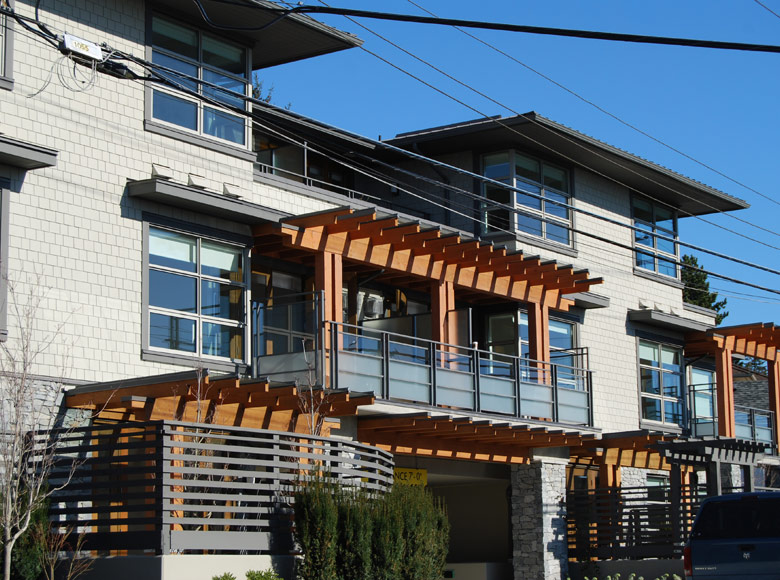 Dundarave village point karl gustavson architect for Vancouver architecture firms