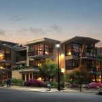 Parkview Place, a multi-residential design project designed by Karl Gustavson Architect based in West Vancouver, Canada.