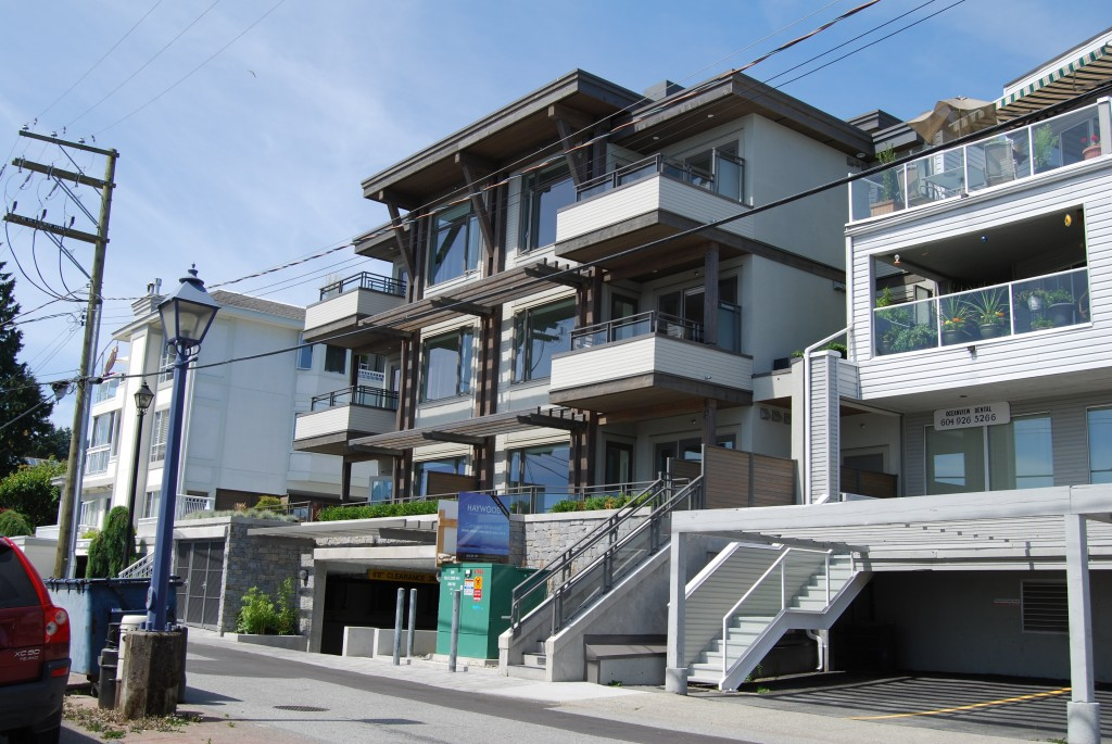 Dundarave the haywood karl gustavson architect for Vancouver architecture firms