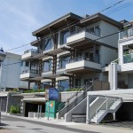 The Haywood, a built green, multi-residential design project designed by Karl Gustavson Architect based in West Vancouver, Canada.