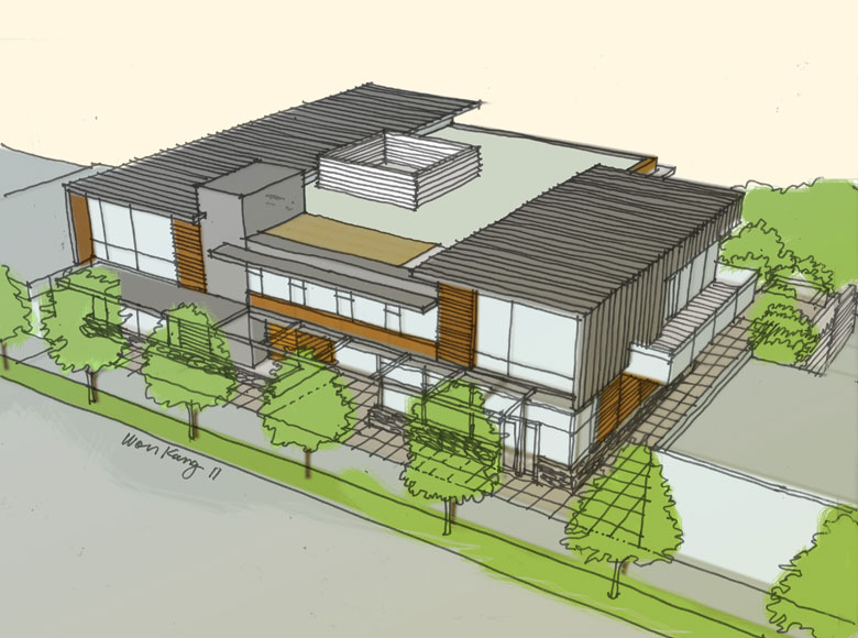 ... Canada Dundarave WV U2013 Jimu0027s Hardware, A Commercial Architecture Design  Project Designed By Karl Gustavson Architect ...